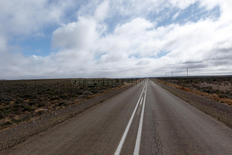 Cloudy Day - Fraserburg Landscape stock photos