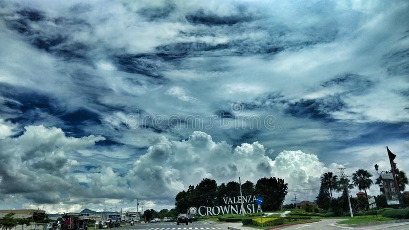 Cloudy Day royalty free stock image