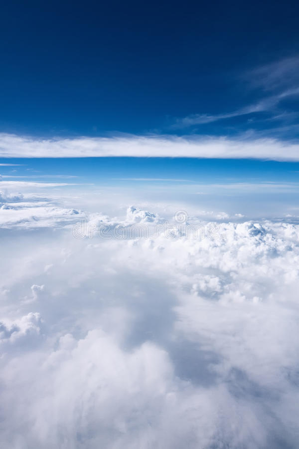 Cloudy heavens royalty free stock images