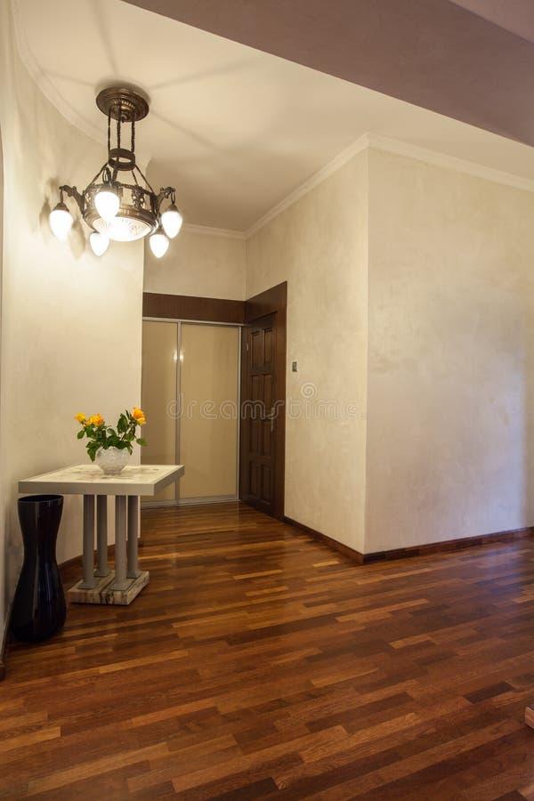 Cloudy Home - Wooden Corridor Stock Photos