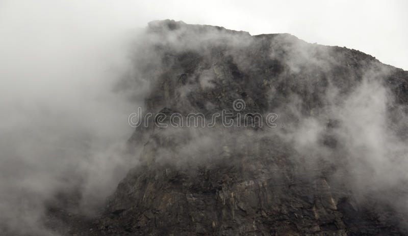 Cloudy Mountains royalty free stock image