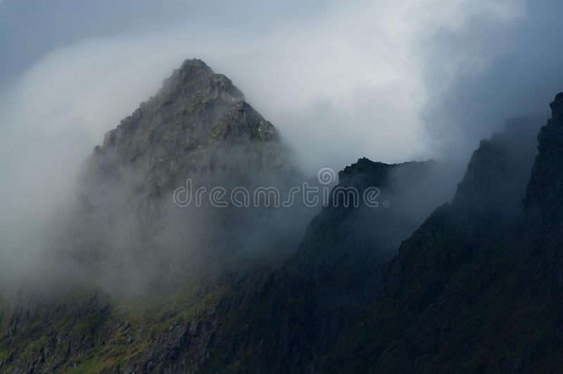 Download Cloudy Peaks stock image. Image of nature, trolls, mytic - 10474567
