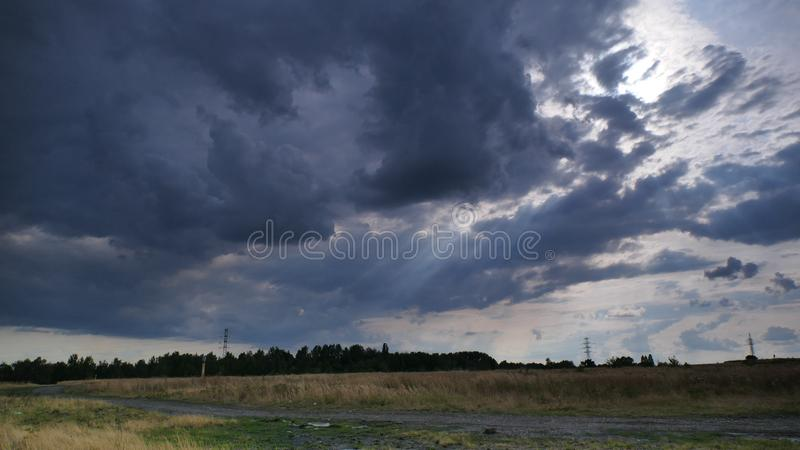 Cloudy, cloudy, rainy weather. 