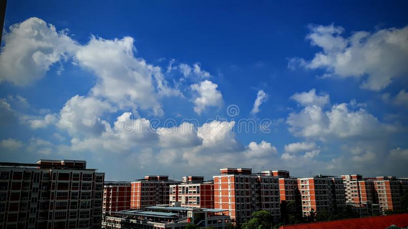 Cloudy stock photography