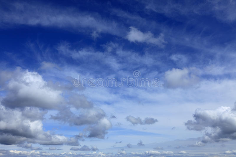 Download Cloudy sky stock image. Image of heaven, scenic, fluffy - 14882781