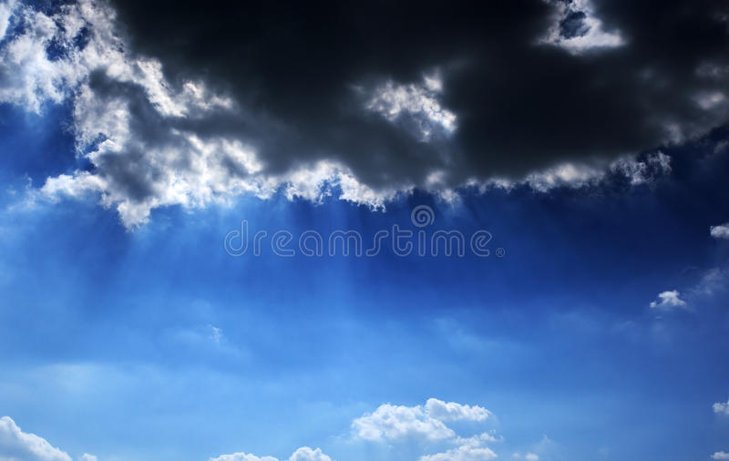 Download Cloudy sky stock image. Image of high, paradise, forecast - 16372141