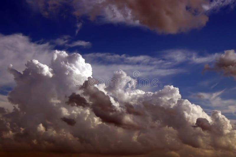 Cloudy sky 2 stock image