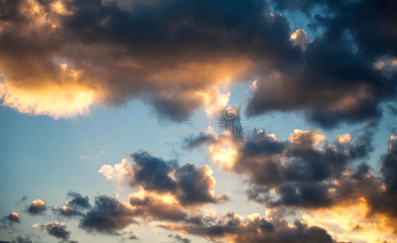 Download Cloudy sky stock image. Image of outdoors, condensation - 27627451