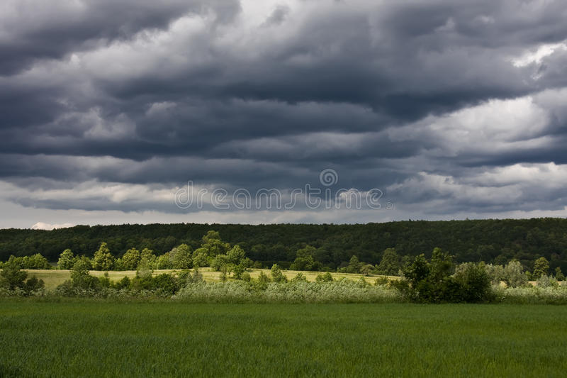 Download Cloudy sky stock photo. Image of background, cloud, plain - 9722472