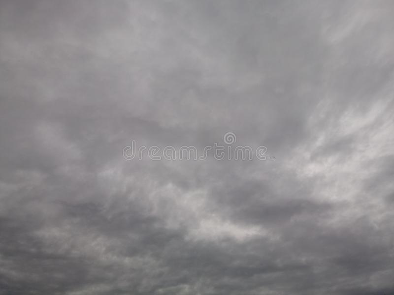 Cloudy sky. Heaven skies grey coulds royalty free stock images