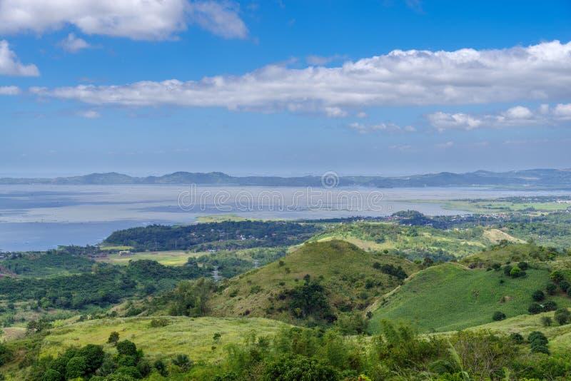 Cloudy sky at Laguna de bay royalty free stock images