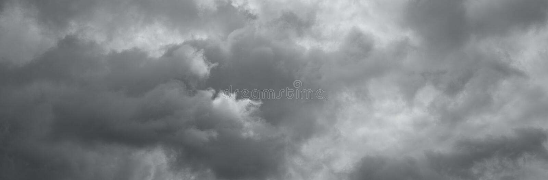Cloudy sky panorama. stock image