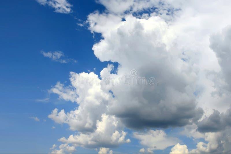 Cloudy Sky Before Rain Stock Photos