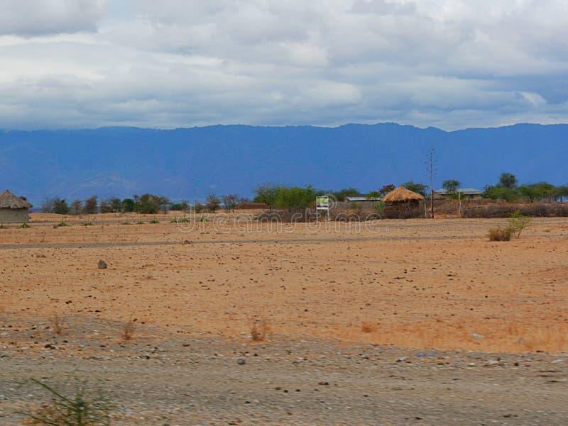 Mountains take out clouds. Cloudy sky in Tanzania, Africa, to meet adventures, safaris, Tarangiri, Ngorongoro, the mountains, Africa, Safari in Africa, Arusha stock photo