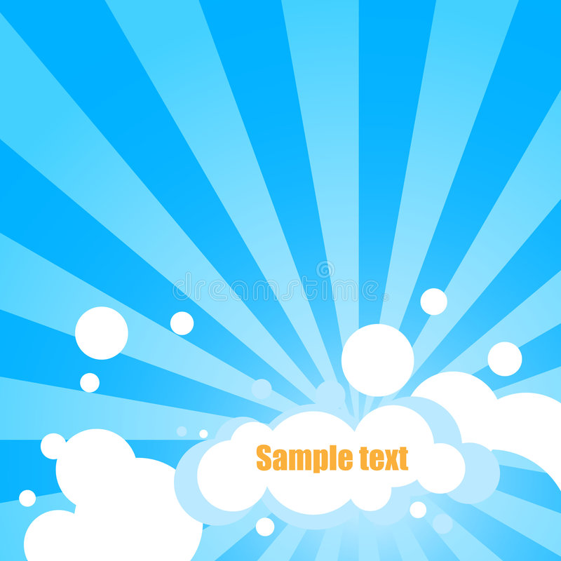 Download Cloudy text panel stock vector. Image of scene, scenic - 6604704