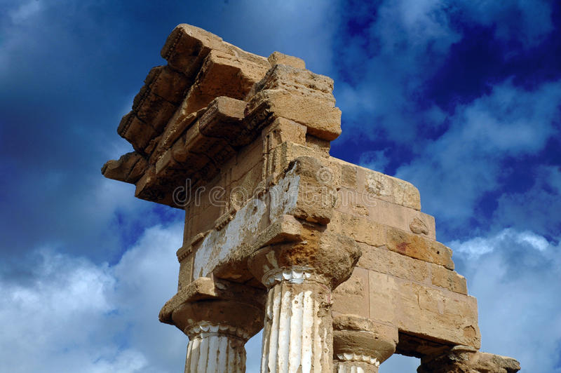 Clouse-up del templo del echador imagen de archivo libre de regalías