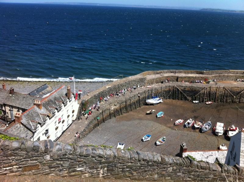 Clovelly imagens de stock royalty free