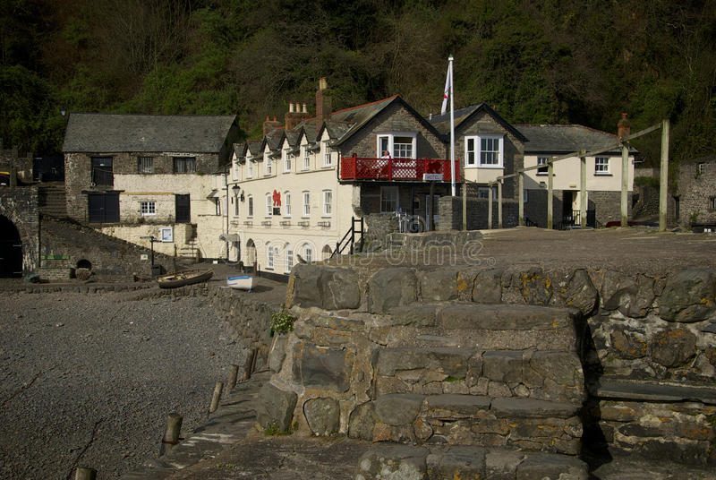 Clovelly, Cornwall, UK. Clovelly Coast Cornwall England UK royalty free stock images