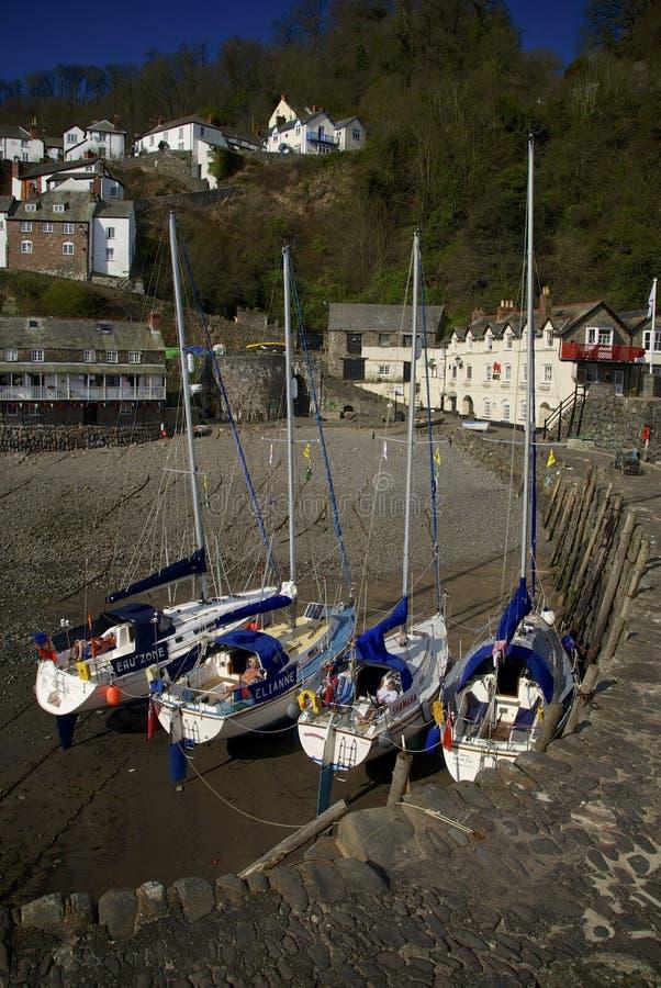 Clovelly, Cornwall, UK. Clovelly Coast Cornwall England UK royalty free stock photos