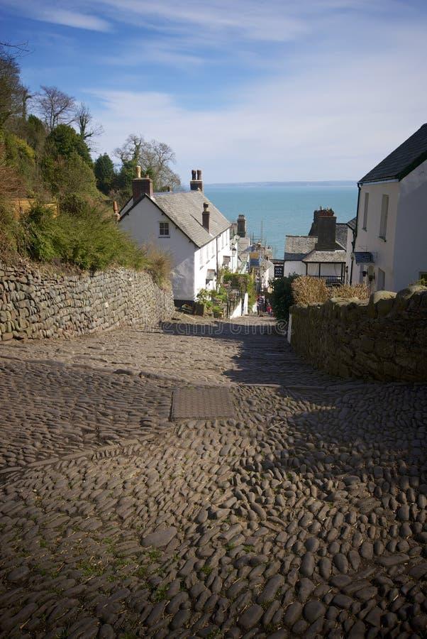 Clovelly, Cornwall, UK. Clovelly Coast Cornwall England UK royalty free stock image