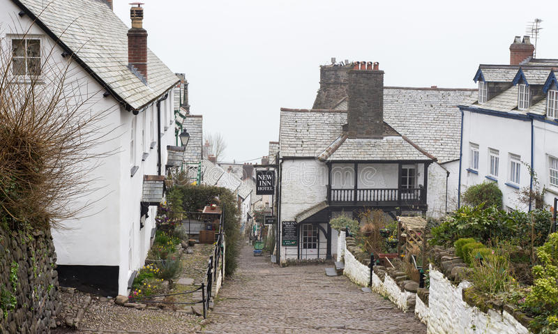 Clovelly, Devon fotografie stock libere da diritti