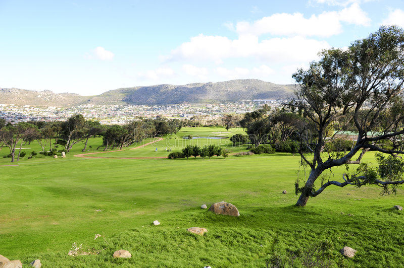 Download Clovelly Golf Course Royalty Free Stock Photography - Image: 6701457