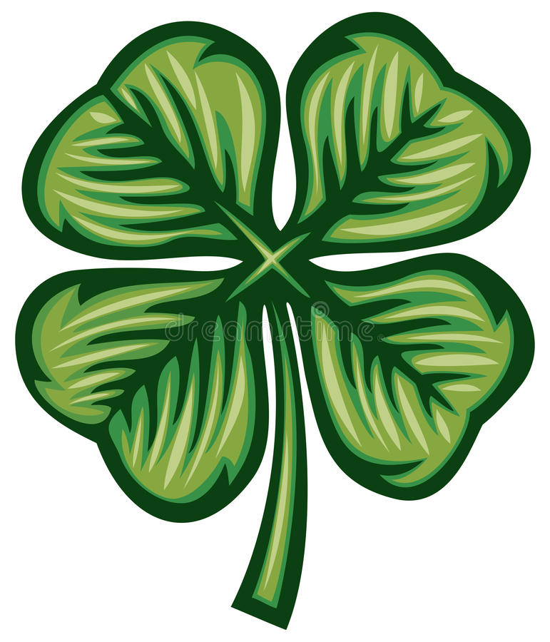 Download Clover stock vector. Image of plant, saint, nature, event - 25560210