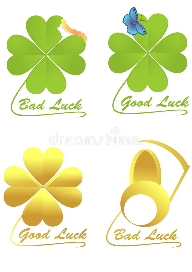 Download Clover stock illustration. Illustration of four, collection - 38226432