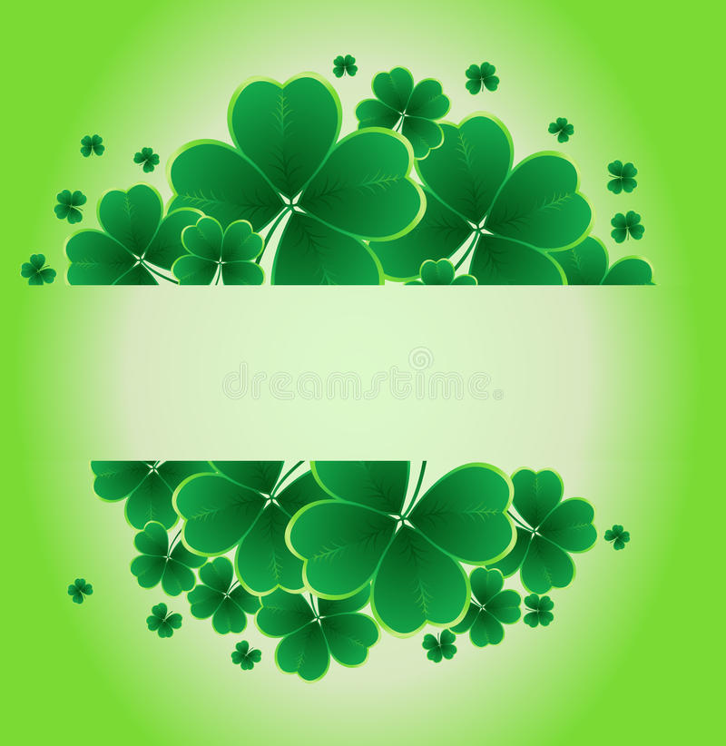 Download Clover Background Royalty Free Stock Images - Image: 23335629