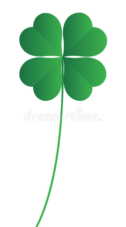 Download Clover four leafs stock illustration. Image of happy, symbol - 7321502