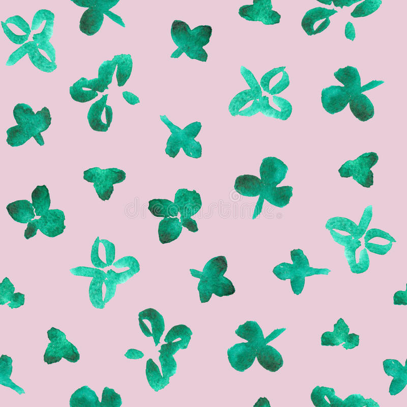 Clover leaves royalty free stock image