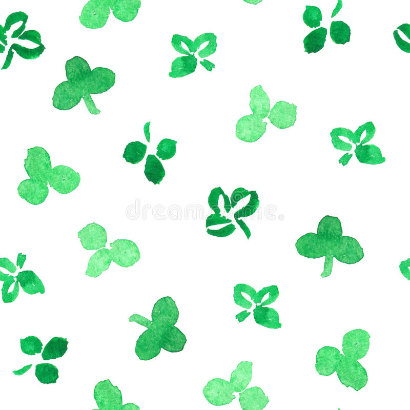 Clover leaves royalty free stock photography