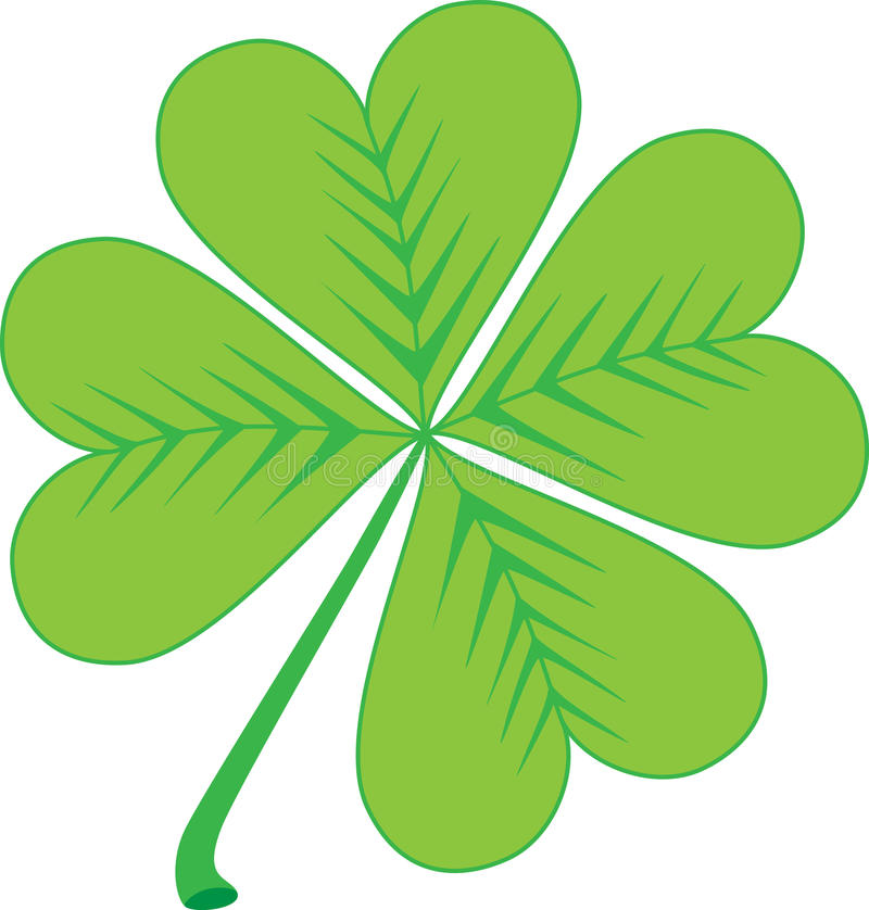 Clover stock illustration