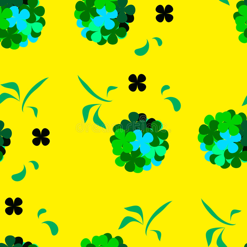 Clover for lucky stock image
