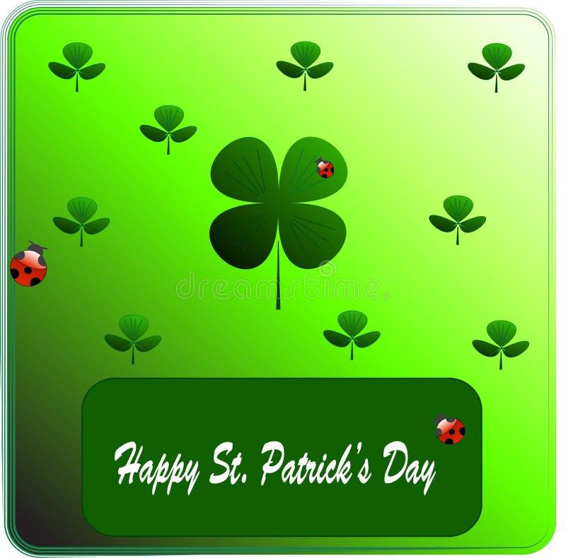 Download Clover On St. Patrick's Day. Vectors Illustration Stock Vector - Illustration: 8599345