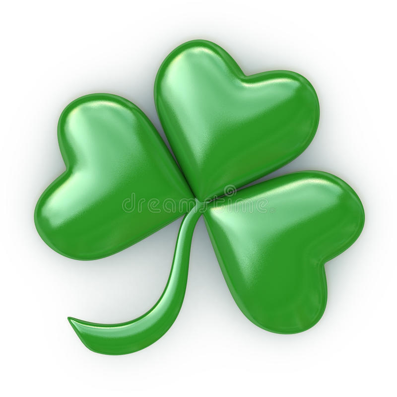 Free Clover With Three Leafs - Patricks Day Stock Photos - 39843923