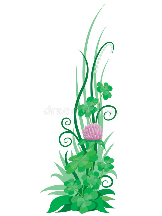 Clover3 royalty free stock images