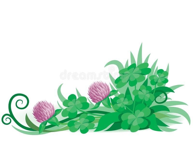 Clover4 ilustração stock