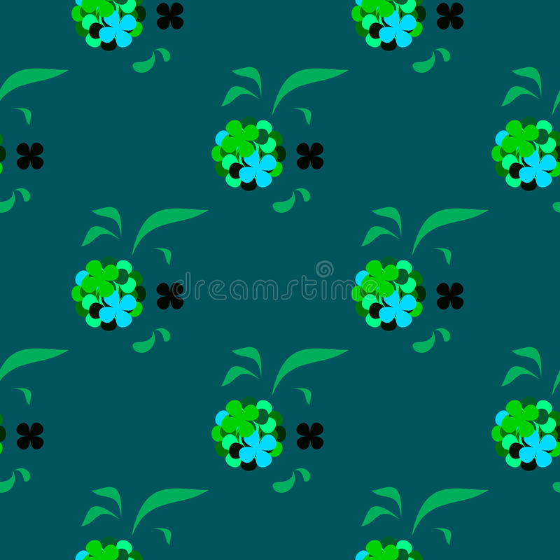 Clovers for lucky stock photo