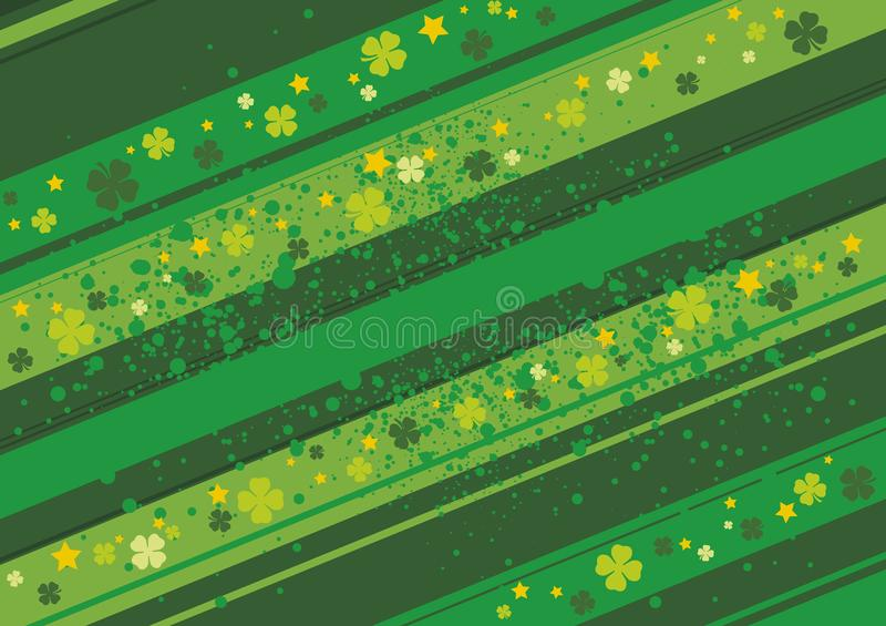 Clovers, St. Patrick's day royalty free stock image