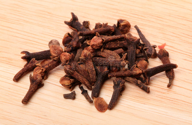 Download Cloves on the board stock photo. Image of scented, board - 17629048