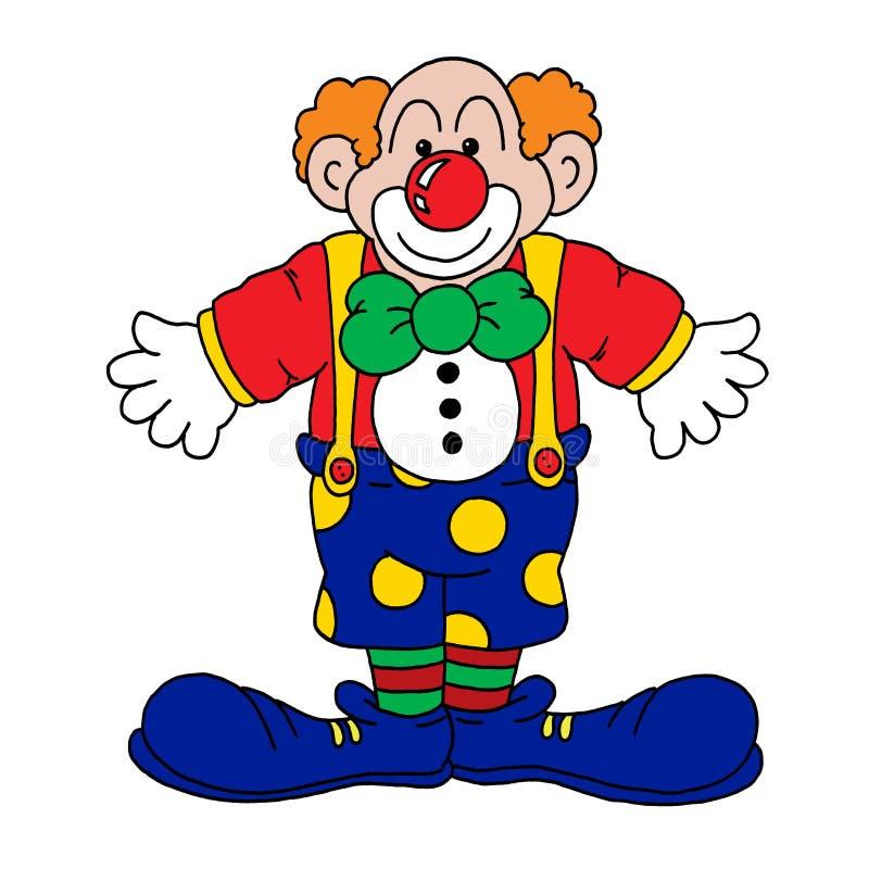 Download Clown stock illustration. Illustration of braces, cartoons - 10302870