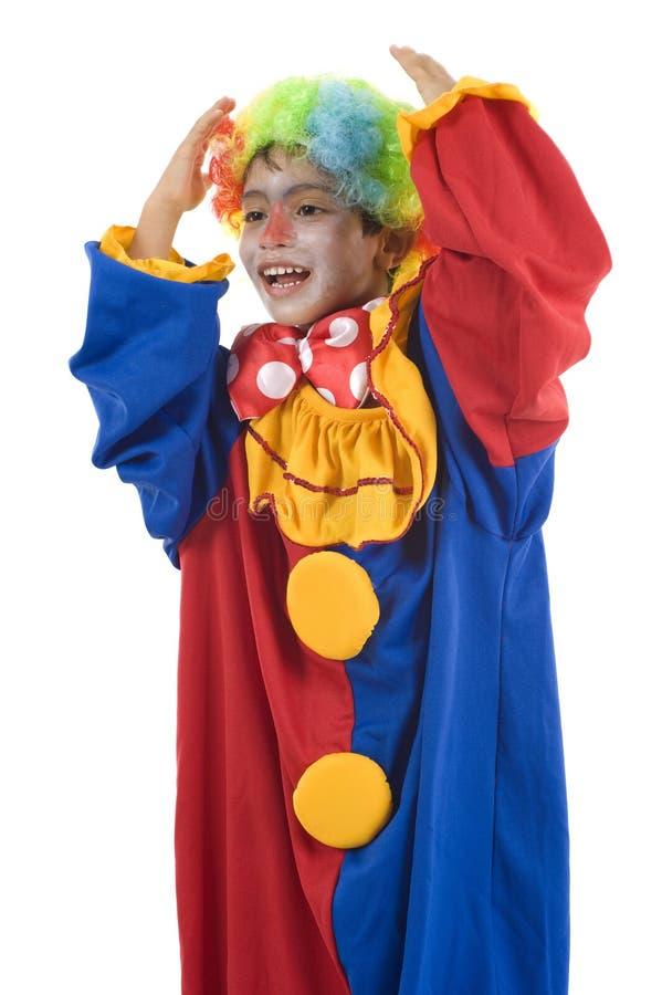 clown royaltyfria foton