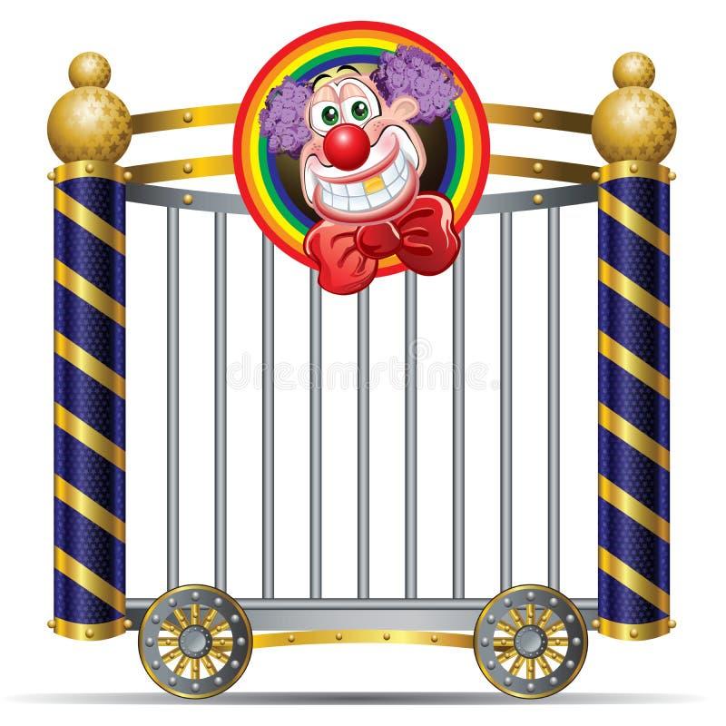 Clown stock abbildung