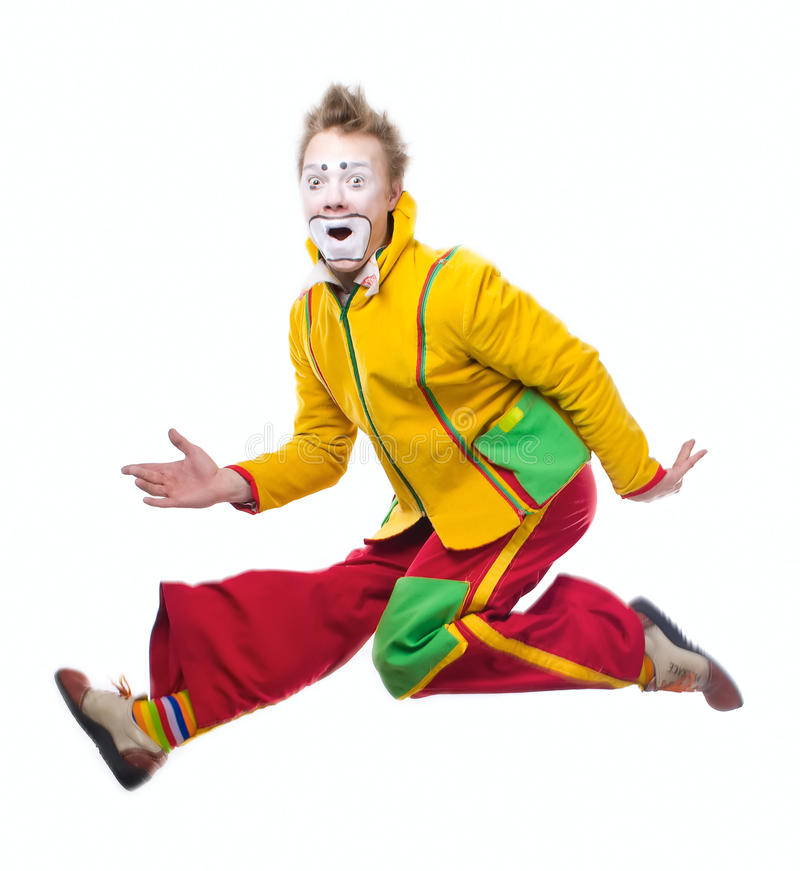 Download The clown stock photo. Image of trick, harlequin, clown - 13509194