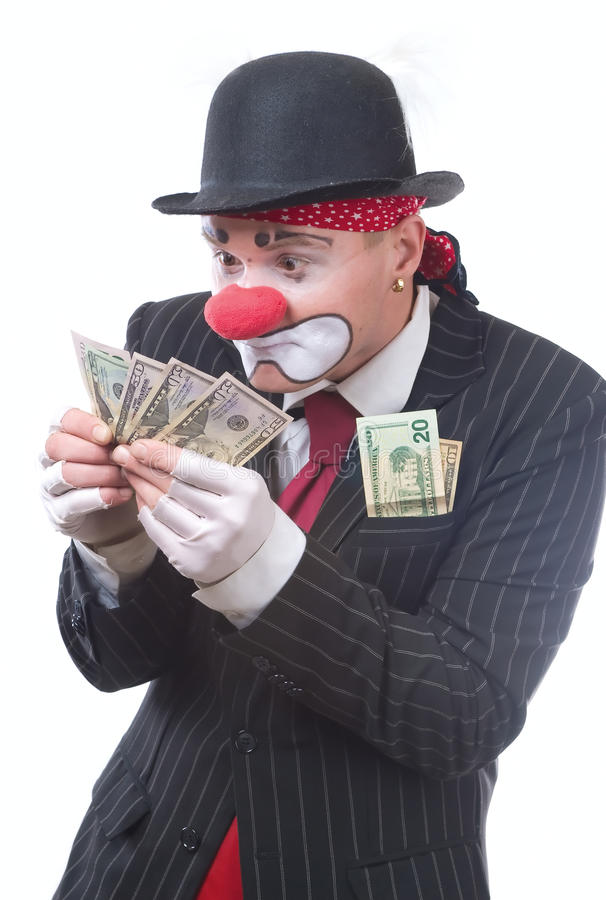 Download The clown stock photo. Image of business, happy, humor - 13601796