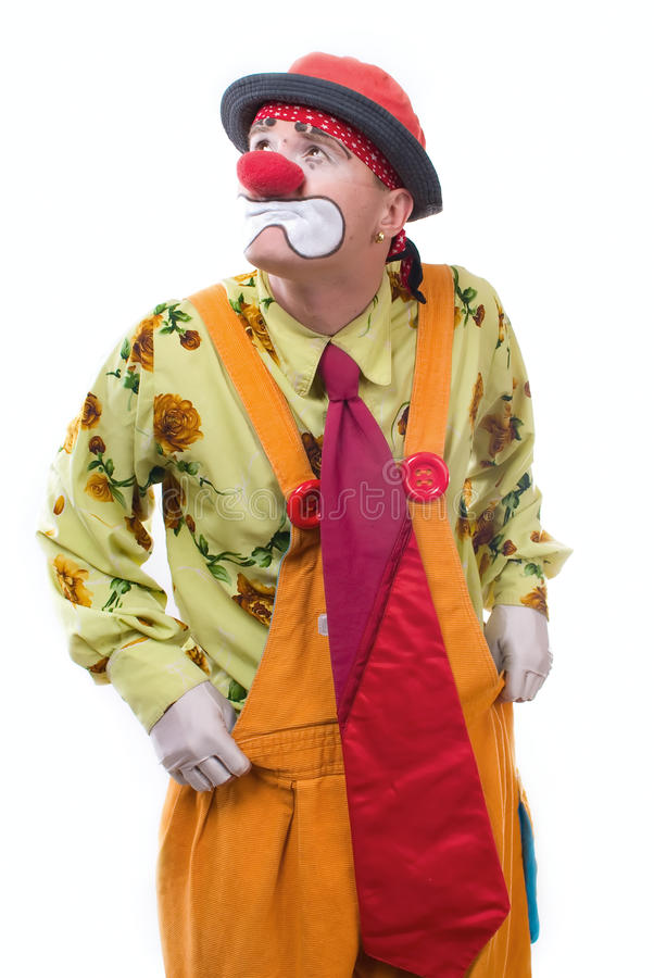 Download The clown stock photo. Image of magic, harlequin, mystery - 13680610