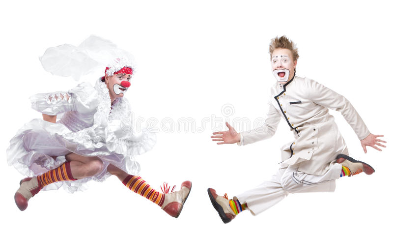 The Clown Stock Image