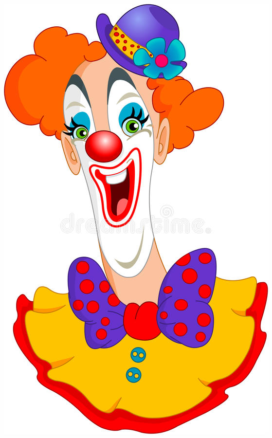 Clown stock illustratie