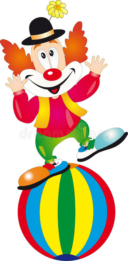 Clown   illustration libre de droits
